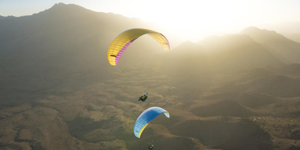 Gleitschirmfliegen Marokko